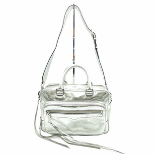 "Primary Photo - BRAND: REBECCA MINKOFF STYLE: HANDBAG COLOR: SILVER SIZE: 11""L X 7""H X 4""DSTRAP DROP: 13""SKU: 262-26211-144223IN GOOD SHAPE AND CONDITION"