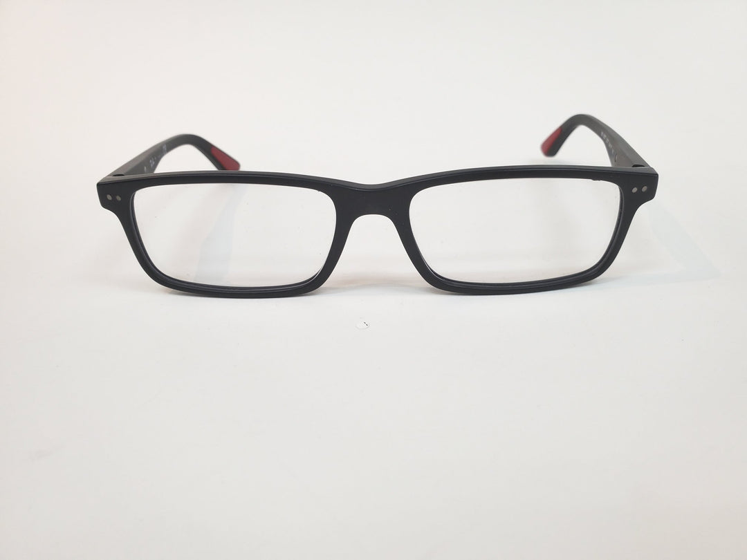 Primary Photo - BRAND: RAY BAN <BR>STYLE: PRESCRIPTION GLASSES<BR>COLOR: RED BLACK <BR>OTHER INFO: RX <BR>SKU: 262-26241-40405<BR>AS IS <BR>DESIGNER ITEM FINAL SALE
