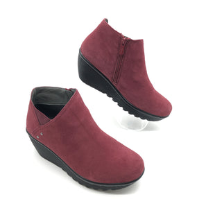 Primary Photo - BRAND: SKECHERS STYLE: BOOTS ANKLE COLOR: RED SIZE: 9.5 SKU: 262-26275-75563AS IS