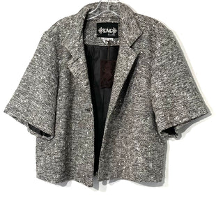 Primary Photo - BRAND: LIVE A LITTLE STYLE: BLAZER JACKET COLOR: BLACK WHITE SIZE: XL SKU: 262-26275-747313/4 LENGTH