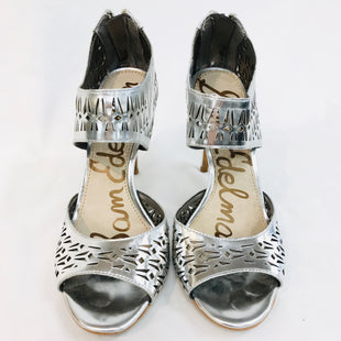 Primary Photo - BRAND: SAM EDELMAN STYLE: SANDALS HIGHCOLOR: SILVER SIZE: 6.5 OTHER INFO: AS IS SLIGHT MARKS SKU: 262-26241-37668AS IS