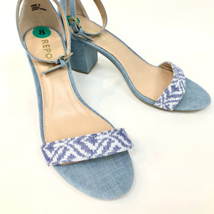 Primary Photo - BRAND: REPORT STYLE: SANDALS COLOR: DENIM SIZE: 8 SKU: 262-26275-49060