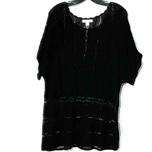 Primary Photo - BRAND: COLDWATER CREEK STYLE: TOP SHORT SLEEVE COLOR: BLACK SIZE: 1X /18SKU: 262-262101-1500