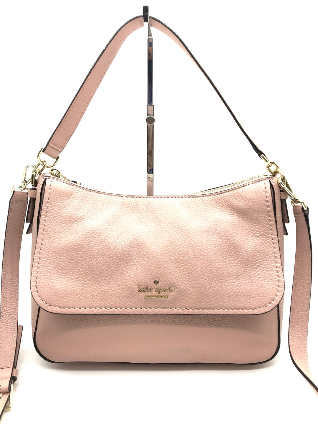 Photo #1 - BRAND: KATE SPADE <BR>STYLE: HANDBAG DESIGNER <BR>COLOR: LIGHT PINK <BR>SIZE: MEDIUM <BR>SKU: 262-26275-66916<BR>IN EXCELLENT SHAPE AND CONDITION