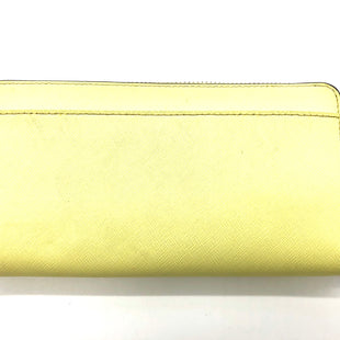 "Photo #1 - BRAND: KATE SPADE STYLE: WALLET COLOR: YELLOW SIZE: LARGE SKU: 262-26211-142977APPROX. 7.75"" L X 4.25"" H. SOME SLIGHT SPOTS"