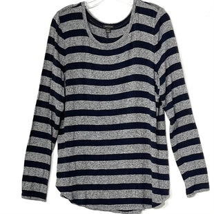 Primary Photo - BRAND: ANN TAYLOR STYLE: TOP LONG SLEEVE COLOR: STRIPED SIZE: XL SKU: 262-26275-76553