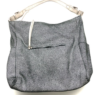 "Primary Photo - BRAND: SORIAL STYLE: HANDBAG COLOR: BLACK WHITE SIZE: MEDIUM SKU: 262-26275-75128APPROX. 16""L X 13.25""H X 4""D. PRICE MAY REFLECT SOME SLIGHT WEAR"
