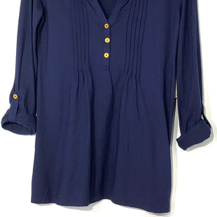 Primary Photo - BRAND: LILLY PULITZER STYLE: TOP LONG SLEEVE COLOR: NAVY SIZE: S SKU: 262-26241-35243DESIGNER FINAL