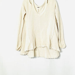 Primary Photo - BRAND: FREE PEOPLE STYLE: SWEATER LIGHTWEIGHT COLOR: CREAMSIZE: XS SKU: 262-26275-72162