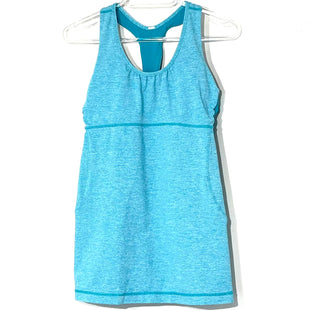 Primary Photo - BRAND: LULULEMON STYLE: ATHLETIC TANK TOP COLOR: TEAL SIZE: 8 SKU: 262-26275-75856DESIGNER FINAL