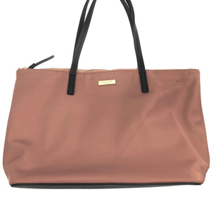 "Primary Photo - BRAND: KATE SPADE STYLE: HANDBAG DESIGNER COLOR: DUSTY PINKSIZE: SMALL SKU: 262-262101-750APPROX. 15""L X 10""H X 5""D. PRICE REFLECTS GENTLE WEAR/VISIBLE SPOTS, AS IS"