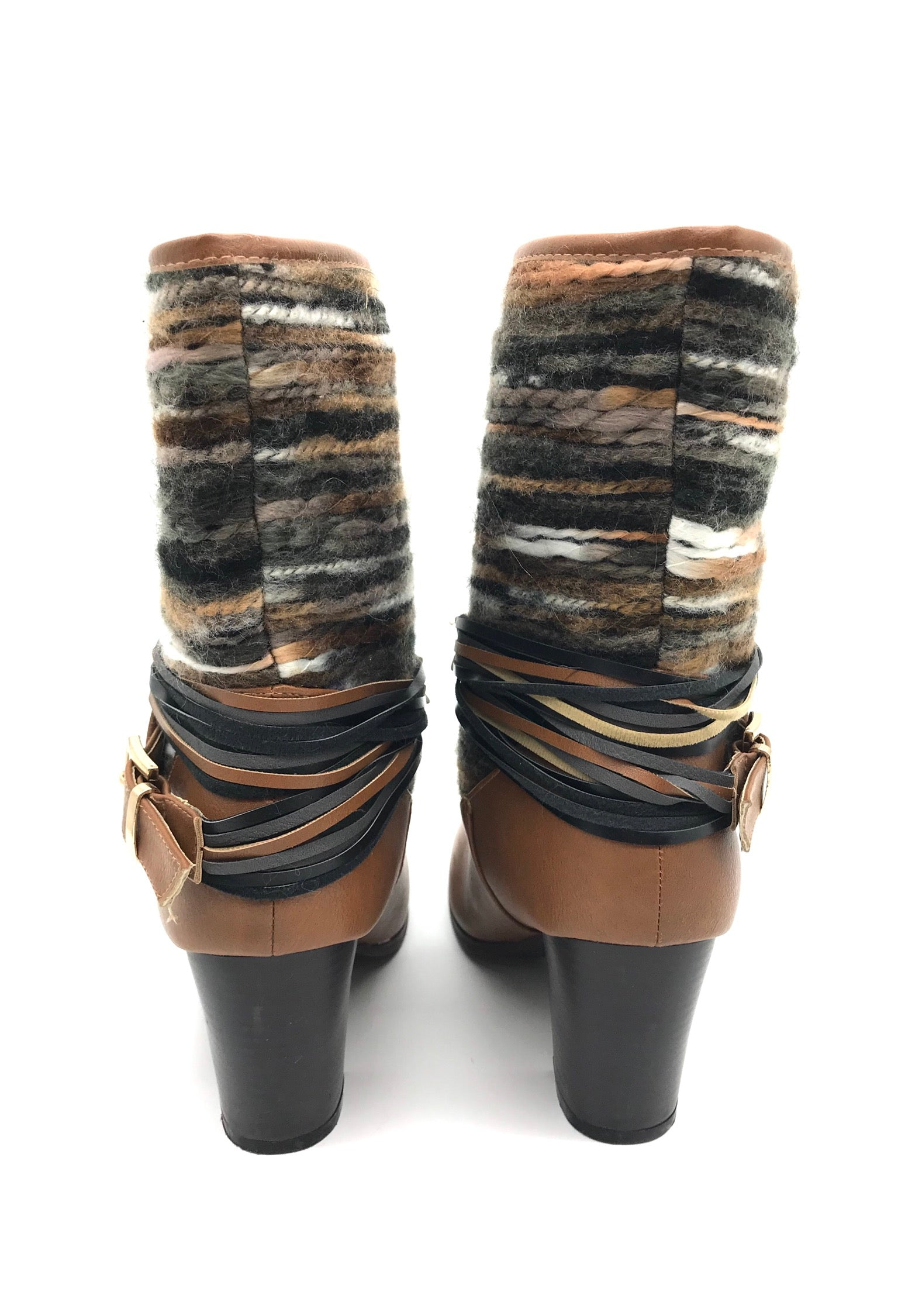 Photo #4 - BRAND: FRANCESCA'S <BR>STYLE: BOOTS ANKLE <BR>COLOR: BROWN <BR>SIZE: 8 <BR>SKU: 262-26275-67422