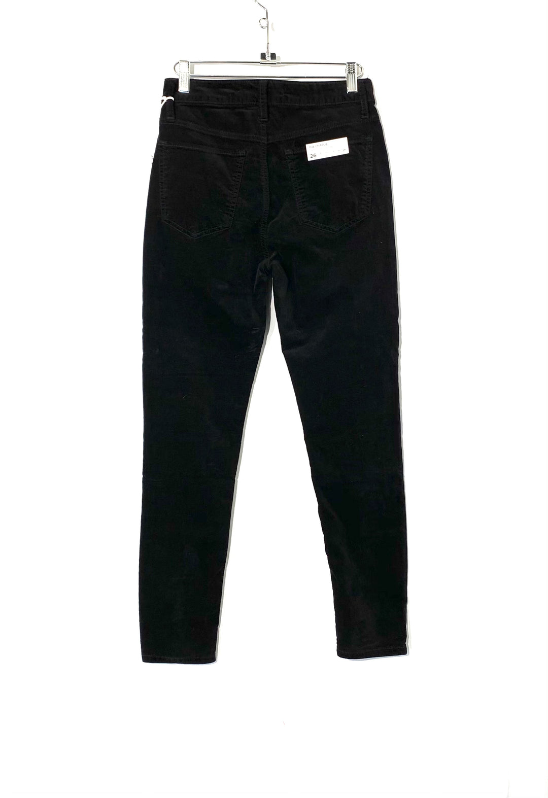 Photo #1 - BRAND: JOES JEANS <BR>STYLE: PANTS <BR>COLOR: BLACK <BR>SIZE: 4 /26<BR>SKU: 262-26275-72699<BR>VELOUR
