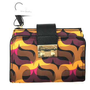 "Primary Photo - BRAND: VERA BRADLEY STYLE: WALLET COLOR: YELLOW SIZE: MEDIUM SKU: 262-26241-43748APPROX. 8.5""L X 5.75""H WHEN OPENED"
