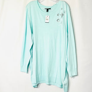 Primary Photo - BRAND: LANE BRYANT STYLE: TOP LONG SLEEVE COLOR: MINT SIZE: 3X /26-28SKU: 262-26211-143578ACTUAL COLOR MORE GREEN THAN PHOTOS SHOW