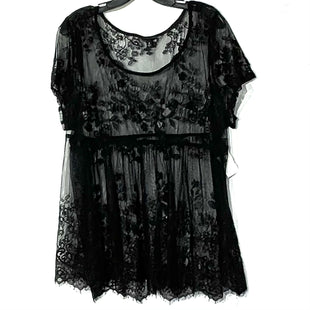 Primary Photo - BRAND: TORRID STYLE: TOP SHORT SLEEVE COLOR: BLACK SIZE: 2X /2SKU: 262-26211-141790