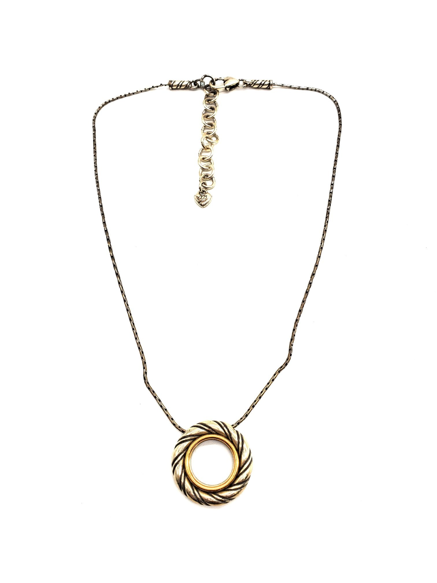 Primary Photo - BRAND: BRIGHTON <BR>STYLE: NECKLACE <BR>COLOR: SILVER <BR>SKU: 262-26275-63913<BR>AS IS <BR>DESIGNER ITEM FINAL SALE
