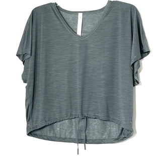 Primary Photo - BRAND: LULULEMON STYLE: ATHLETIC TOP SHORT SLEEVE COLOR: GREENSIZE: 2 SKU: 262-26241-46371DESIGNER FINAL