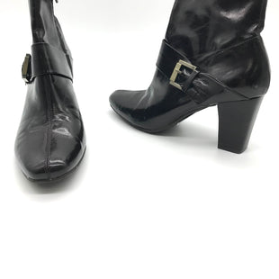 Primary Photo - BRAND: ETIENNE AIGNER STYLE: BOOTS ANKLE COLOR: BROWN SIZE: 9.5 SKU: 262-26211-133259AS IS SLIGHT WEAR