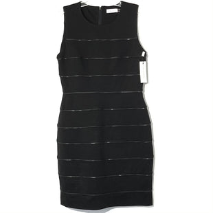 Primary Photo - BRAND: CALVIN KLEIN STYLE: DRESS SHORT SLEEVELESS COLOR: BLACK SIZE: M /8SKU: 262-26275-76558
