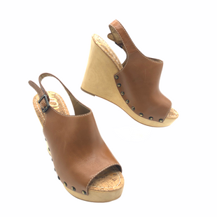 Primary Photo - BRAND: SAM EDELMAN STYLE: SANDALS FLAT COLOR: TAN SIZE: 9.5 SKU: 262-26241-47814LIKE NEW CONDITION