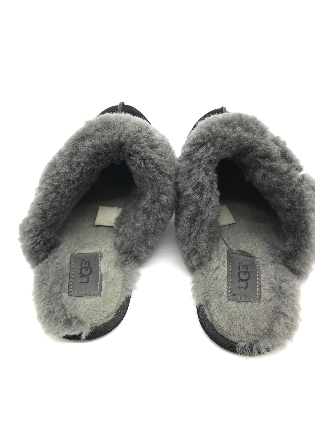 Photo #2 - BRAND: UGG <BR>STYLE: SHOES FLATS <BR>COLOR: BLACK <BR>SIZE: 9 <BR>SKU: 262-26275-65488<BR>MARKS AND WEAR SHOWS - AS IS