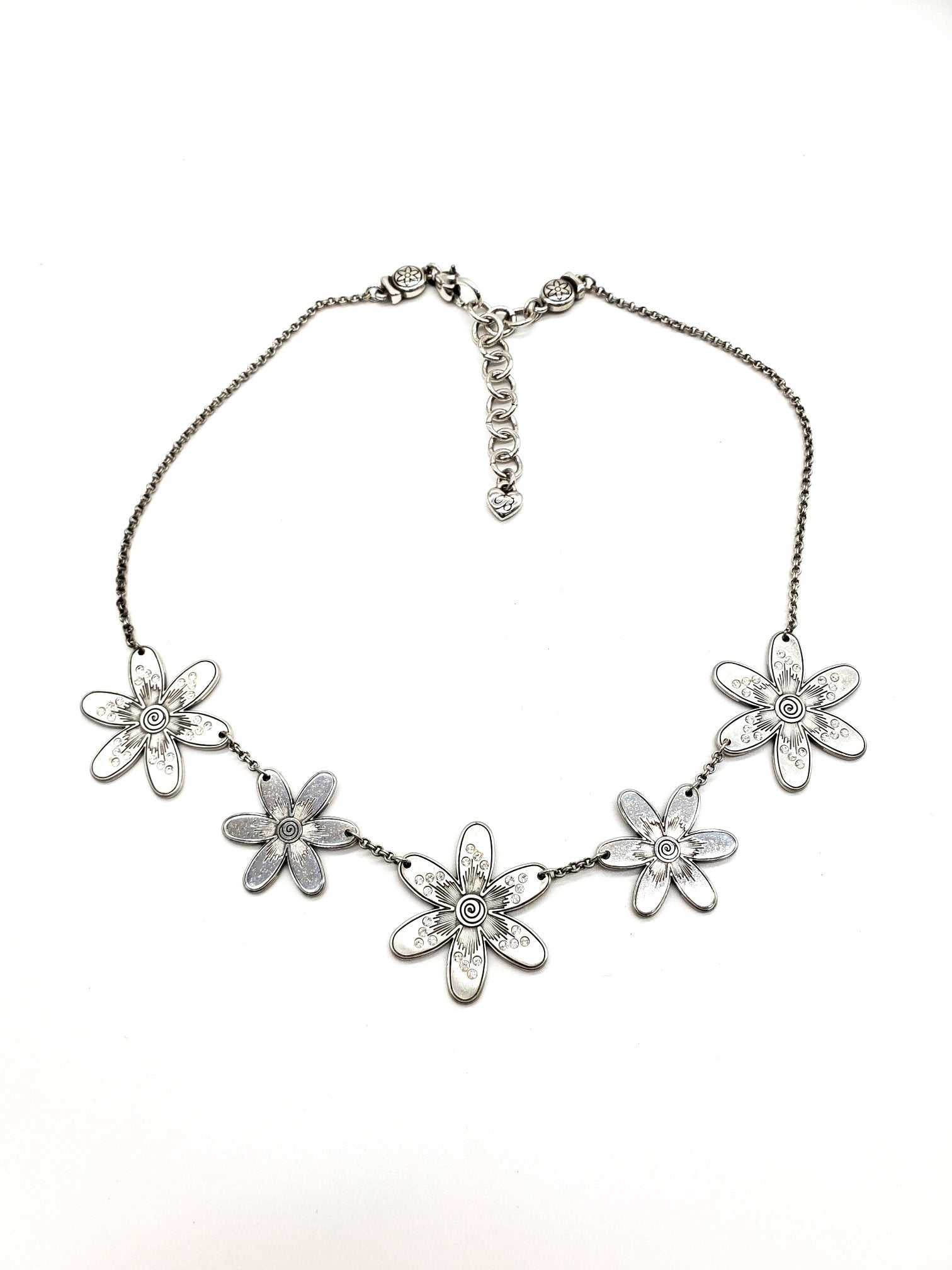 Primary Photo - BRAND: BRIGHTON <BR>STYLE: NECKLACE <BR>COLOR: SILVER <BR>SKU: 262-26275-63915<BR>AS IS <BR>DESIGNER ITEM FINAL SALE