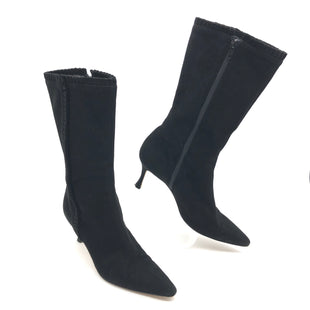 Primary Photo - BRAND: MANOLO BLAHNIK STYLE: BOOTS ANKLE COLOR: BLACK SIZE: 7 | 37SKU: 262-26241-45244GENTLE WEAR - AS IS