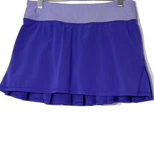 Primary Photo - BRAND: LULULEMON STYLE: ATHLETIC SKIRT SKORT COLOR: PURPLE SIZE: 4 SKU: 262-262101-2706DESIGNER FINAL