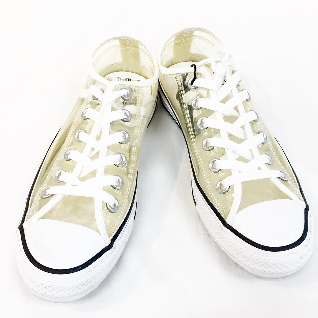 Primary Photo - BRAND: CONVERSE <BR>STYLE: SHOES ATHLETIC <BR>COLOR: CLEAR <BR>SIZE: 7.5 <BR>SKU: 262-26275-60696<BR>AS IS