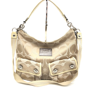 Primary Photo - BRAND: COACH STYLE: HANDBAG DESIGNER COLOR: MONOGRAM SIZE: MEDIUM SKU: 262-26275-74115IN GOOD SHAPE AND CONDITION