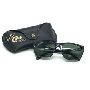 Primary Photo - BRAND: RAY BAN STYLE: SUNGLASSES COLOR: BLACK SKU: 262-26275-77128GENTLE WEAR - AS IS