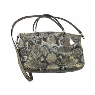 "Primary Photo - BRAND: COACH STYLE: HANDBAG DESIGNER COLOR: SNAKESKIN PRINT SIZE: SMALL SKU: 262-262101-3510APPROX. 13.5""L X 9""H X 3""DSOME SLIGHT WEAR"