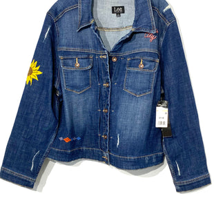 Primary Photo - BRAND: LEE STYLE: JACKET OUTDOOR COLOR: DENIM SIZE: 2X SKU: 262-26275-67020
