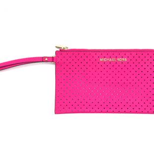 Primary Photo - BRAND: MICHAEL KORS STYLE: WRISTLET COLOR: HOT PINK SKU: 262-26275-70764IN GOOD SHAPE AND CONDITION