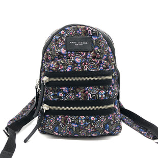 "Primary Photo - BRAND: MARC JACOBS STYLE: BACKPACK COLOR: FLORAL SIZE: 13.5""H X 10""L X 4""DSKU: 262-26241-47500IN GREAT SHAPE AND CONDITION"
