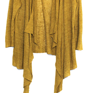 Primary Photo - BRAND: EILEEN FISHER STYLE: SWEATER CARDIGAN LIGHTWEIGHT COLOR: MUSTARD SIZE: S OTHER INFO: AS IS SLIGHT SNAGS SKU: 262-26275-62669