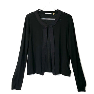 Primary Photo - BRAND: TAHARI STYLE: SWEATER LIGHTWEIGHT COLOR: BLACK SIZE: M SKU: 262-262101-2073