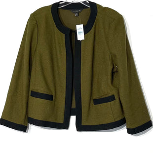 Primary Photo - BRAND: ANN TAYLORSTYLE: TOP LONG SLEEVE BLAZERCOLOR: OLIVE SIZE: XL SKU: 262-26211-140946