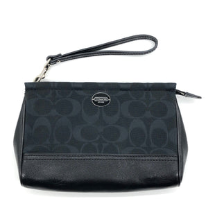 Primary Photo - BRAND: COACH STYLE: WRISTLET COLOR: BLACK SKU: 262-26275-75760IN GOOD SHAPE AND CONDITION