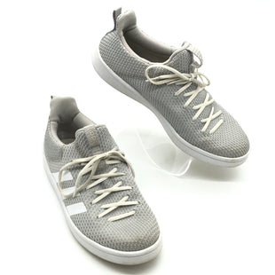 Primary Photo - BRAND: ADIDAS STYLE: SHOES ATHLETIC COLOR: GREY WHITE SIZE: 8 SKU: 262-26275-76609GENTLE WEAR - AS IS