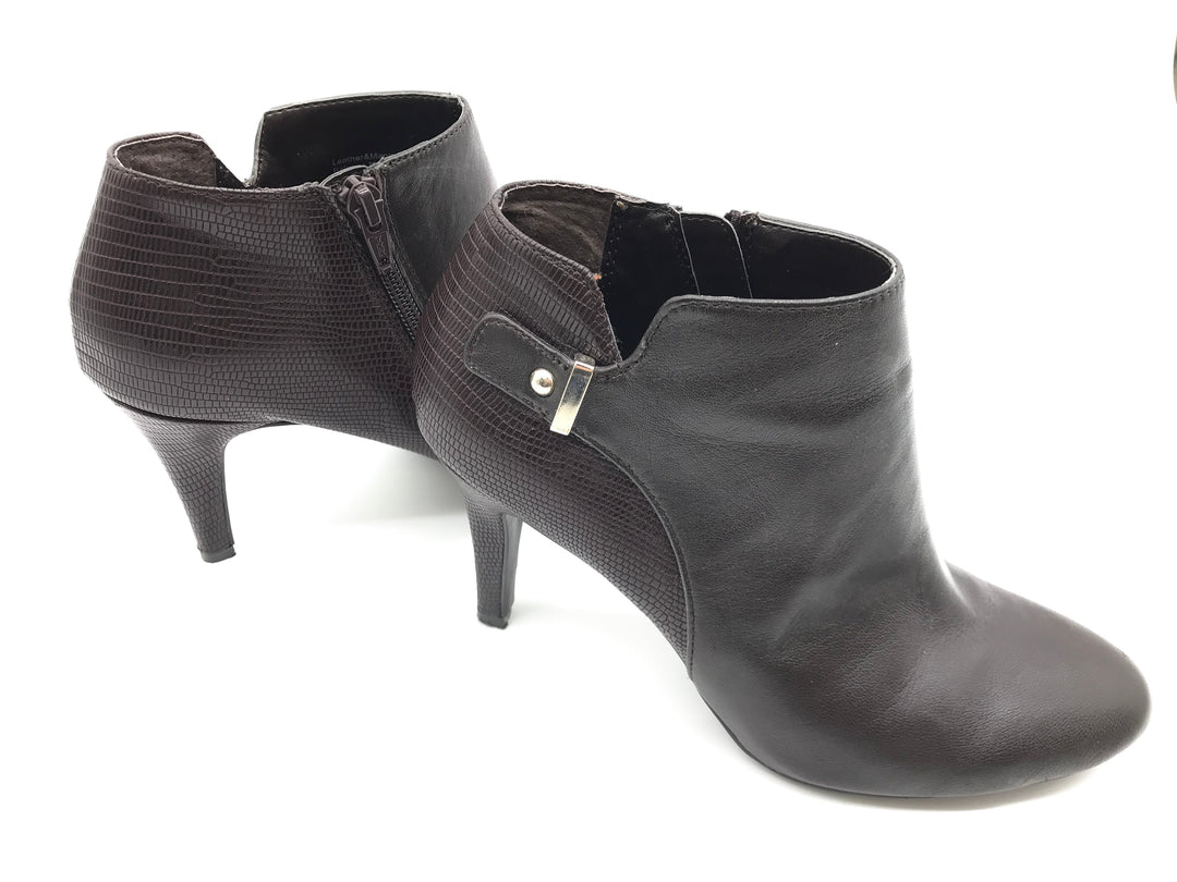 Photo #2 - BRAND: ALFANI <BR>STYLE: BOOTS ANKLE <BR>COLOR: BROWN <BR>SIZE: 7 <BR>SKU: 262-26298-534<BR>GENTLE WEAR - AS IS