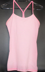 Primary Photo - BRAND: LULULEMON <BR>STYLE: ATHLETIC TANK TOP <BR>COLOR: STRIPED <BR>SIZE: 6 <BR>SKU: 262-26275-62465<BR><BR>SIZE TAG MISSING AS <BR>DESIGNER FINAL