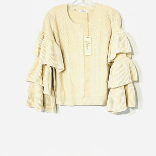 Primary Photo - BRAND: ELAN STYLE: SWEATER LIGHTWEIGHT COLOR: BEIGE SIZE: S SKU: 262-26275-73500