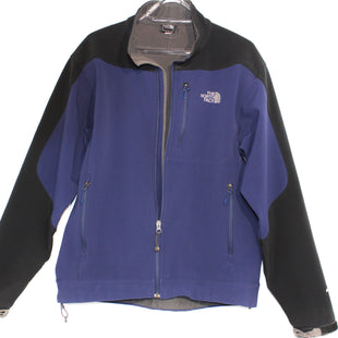 Primary Photo - BRAND: NORTHFACE STYLE: JACKET OUTDOOR COLOR: NAVY SIZE: M (MAN'S SIZE)SKU: 262-26241-37743MAN'S MEDIUM AS ISSOFT SHELL WEAR ON VELCRO STRAPS (SEE PICS)