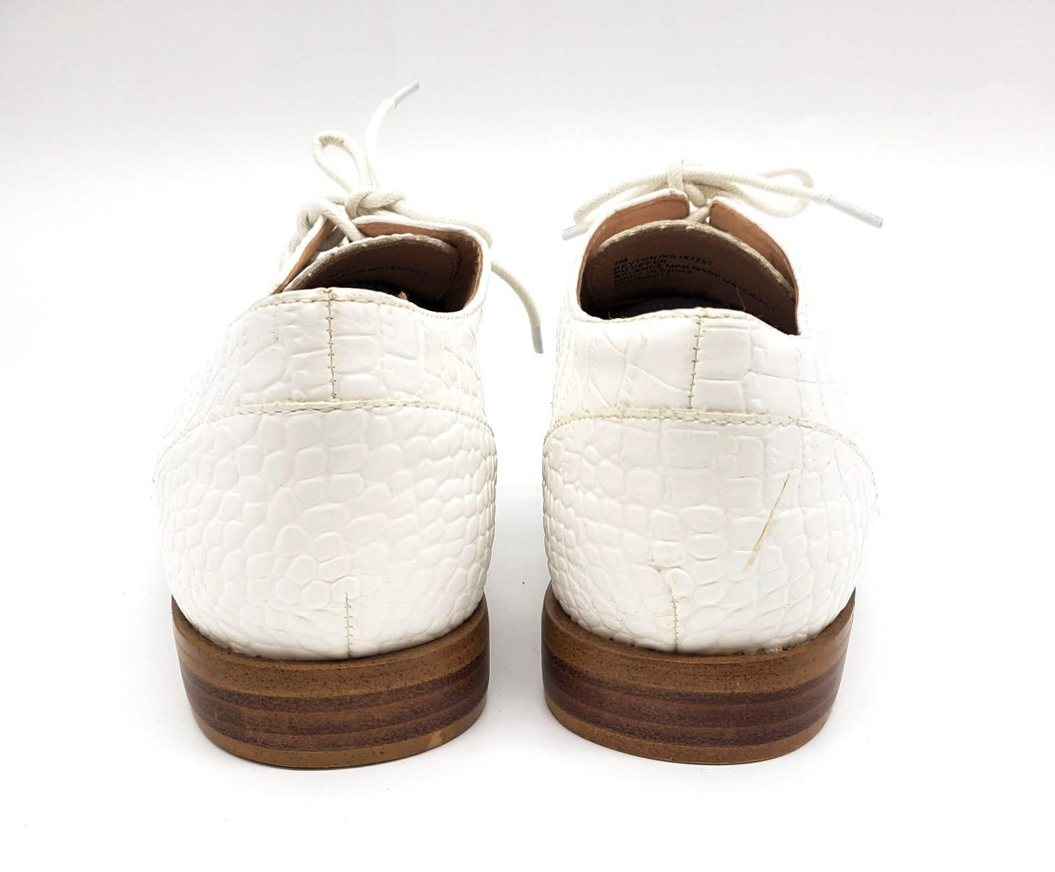 Photo #2 - BRAND: KENSIE <BR>STYLE: SHOES FLATS <BR>COLOR: WHITE <BR>SIZE: 7 <BR>SKU: 262-26275-64174<BR>AS IS SLIGHT SPOTS <BR>