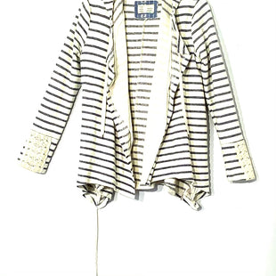 Primary Photo - BRAND:    SATURDAY SUNDAY ANTHROPOLOGIE STYLE: SWEATER CARDIGAN LIGHTWEIGHT COLOR: STRIPED SIZE: S OTHER INFO:SKU: 262-26211-141343STRINGS REMOVED (DON'T NEED THEM) AS IS