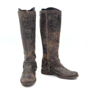 Primary Photo - BRAND: FRYE STYLE: BOOTS KNEE COLOR: BROWN SIZE: 6 SKU: 262-26241-44650GENTLE WEAR - AS IS