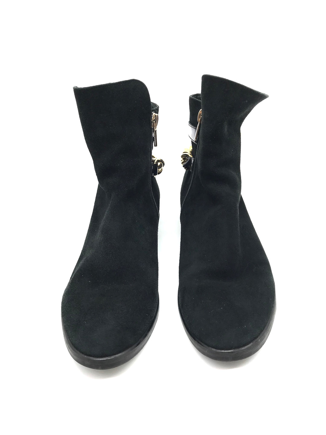 Photo #4 - BRAND:    ITALY DESIGN / CHARMISS <BR>STYLE: BOOTS ANKLE <BR>COLOR: BLACK <BR>SIZE: 7 <BR>OTHER INFO: CHARMISS - <BR>SKU: 262-26275-68602