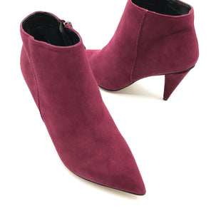 Primary Photo - BRAND: DOLCE VITA STYLE: BOOTS ANKLE COLOR: RASPBERRY SIZE: 7.5 SKU: 262-26211-140557NEW CONDITION - NEVER WORN